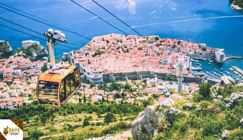 Teleférico en Dubrovnik