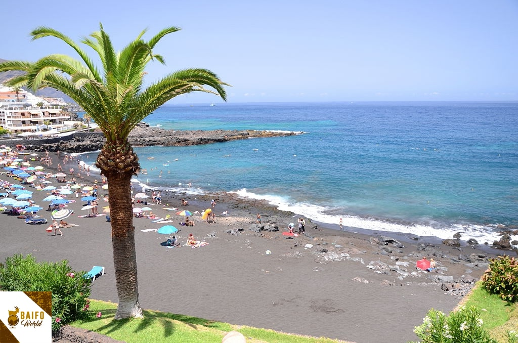 Playa de la arena Tenerife sur