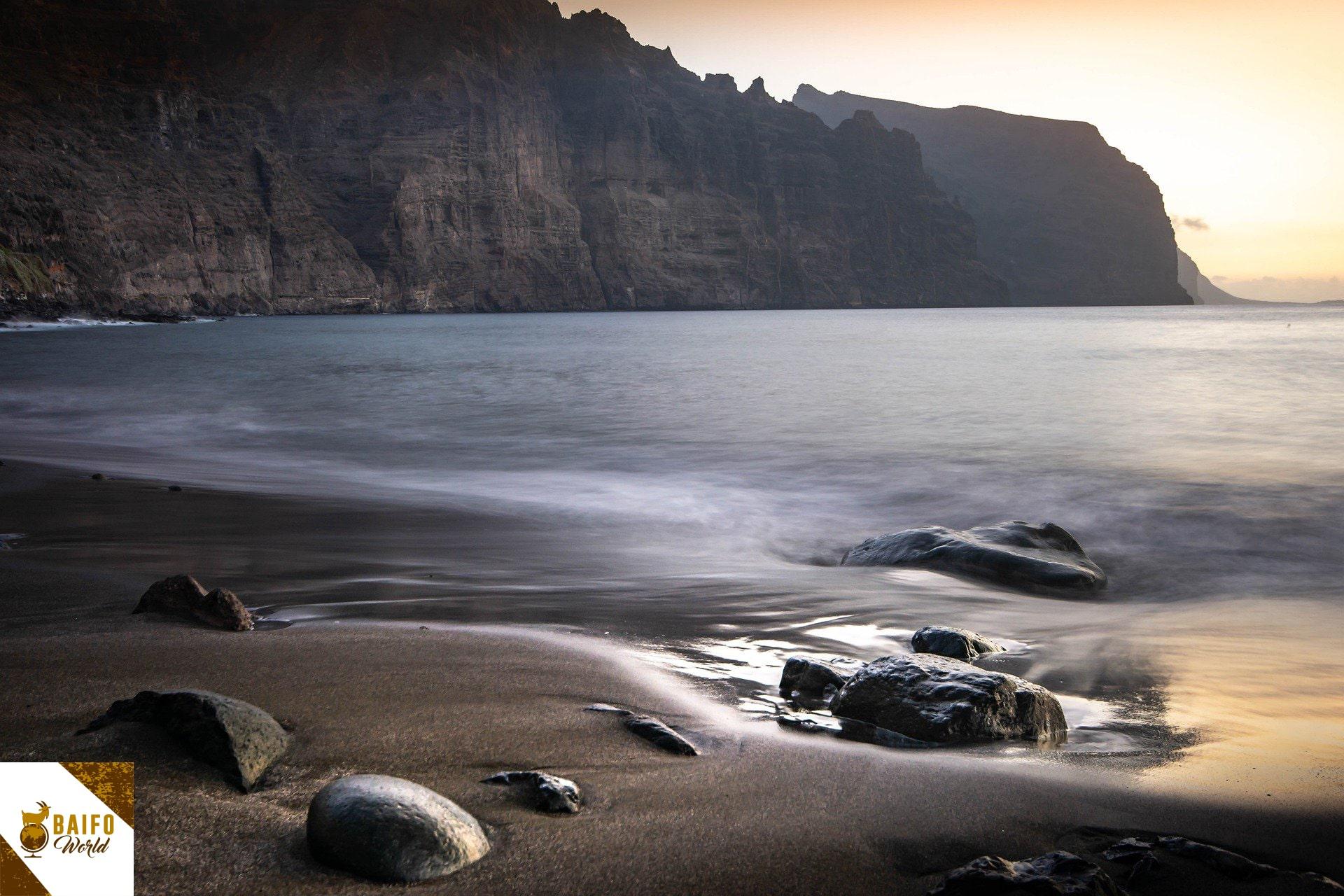 playa de los gigantes sur de Tenerife
