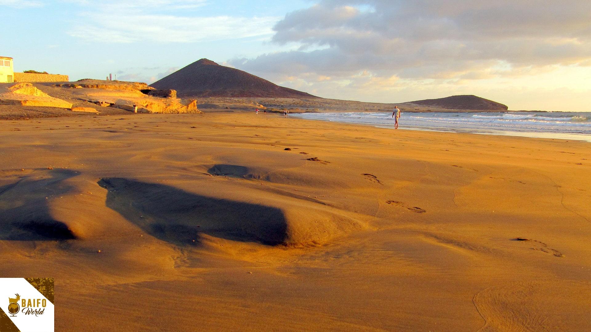 mejores playas sur de tenerife