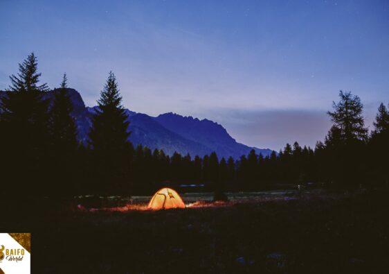 zonas para acampar en tenerife