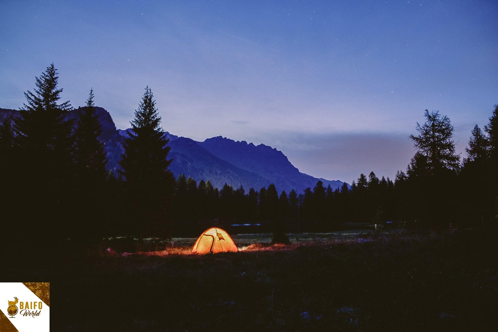 se puede acampar en tenerife