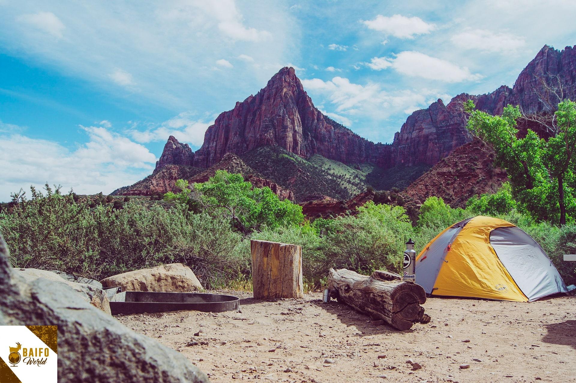 acampar en tenerife