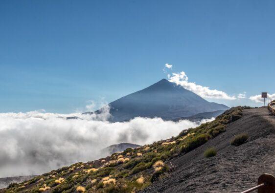 carretera al Teide en Tenerife