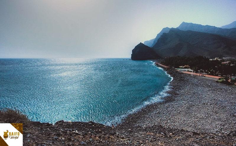 Playa la aldea Gran Canaria Canarias