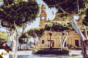 ruta de senderismo camino de santiago Gran Canaria
