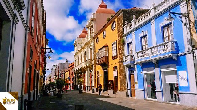 Calle la Carrera La Laguna Tenerife