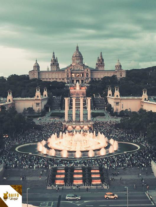 montjuic barcelona
